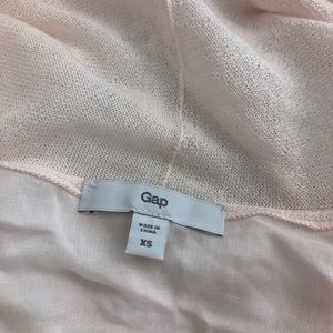 GAP Tops - Gap Blush Pale Pink Wrap Cardigan